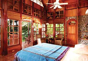 Aguila de Osa Beautiful rustic bedroom