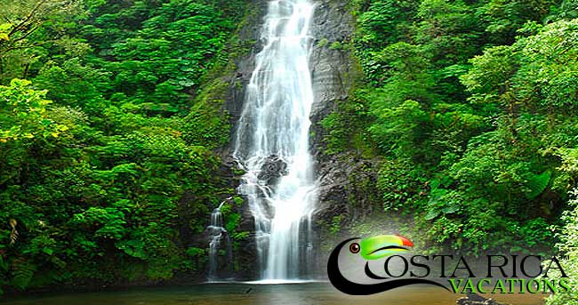 Waterfall Costa Rica