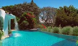 Pool of Finca Rosa Blanca in Santa Barbara