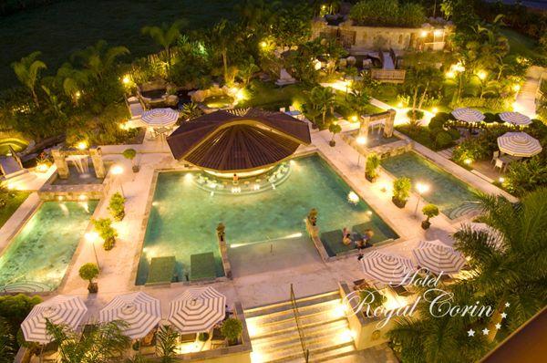 Hotel Royal Corin pool