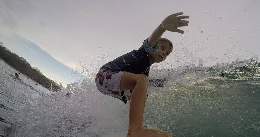 Tamarindo, Costa Rica, is a great place to learn to surf
