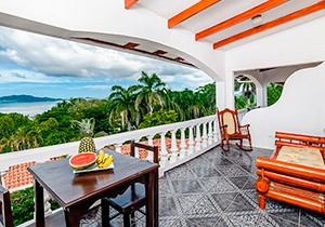 Tamarindo vista villas balcony view